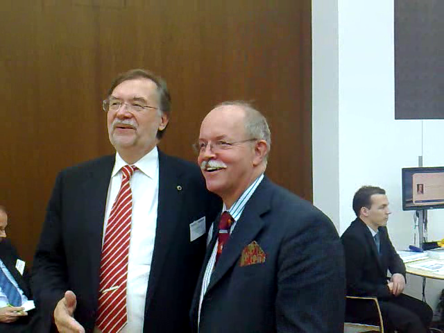 Prof. Edvinsson and Prof. Koch